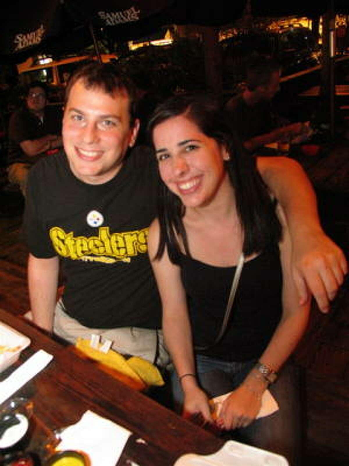 Matt Hodes, left, and Lindsey Fox