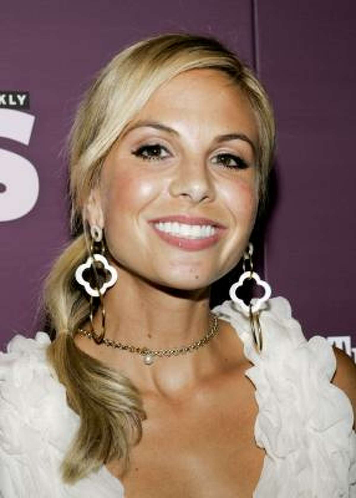 TV host Elisabeth Hasselbeck gave birth to a little boy in August.