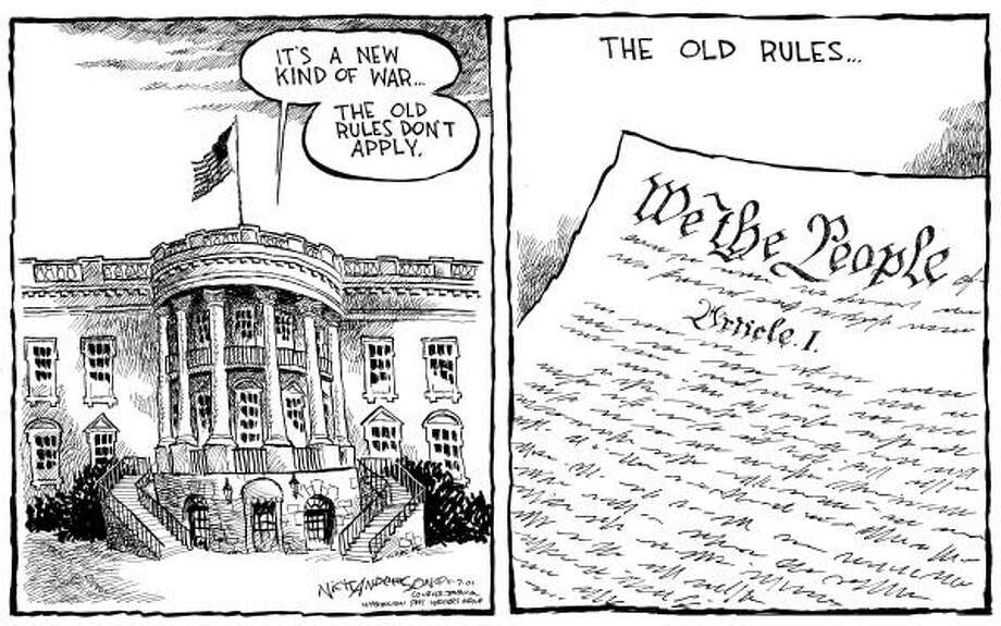 Originally published 12-07-2001. Photo: Nick Anderson, Chronicle