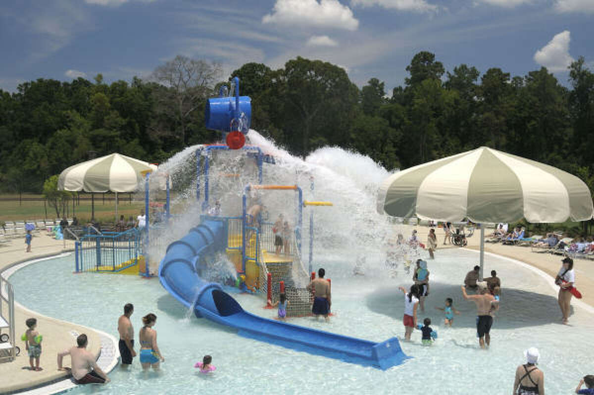 The Woodlands boasts a range of water parks.