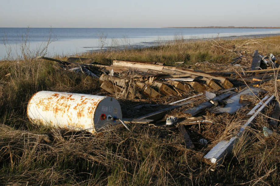 Navigation hazards: While much debris from Hurricane Ike washed ashore, an untold amount sank or remains partially submerged in Galveston Bay, creating dangerous situations for boaters who can strike the hard-to-see obstructions.