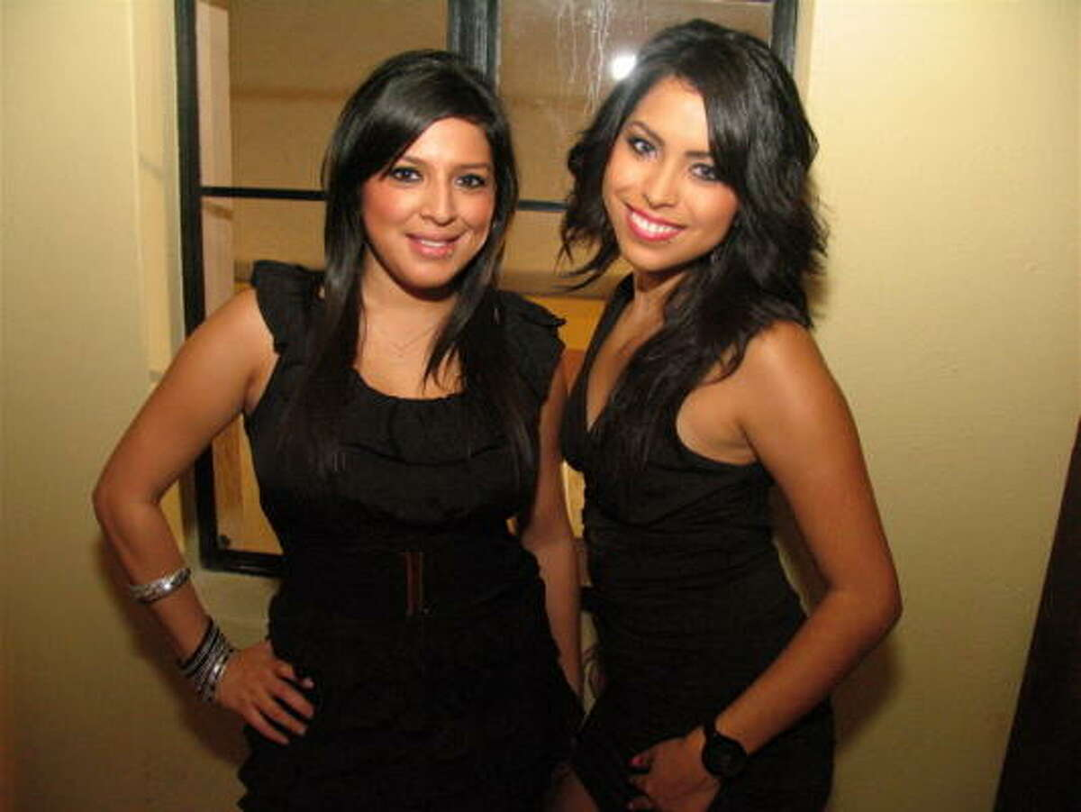 Jennifer Verasquez, left and Mandy Galaviz