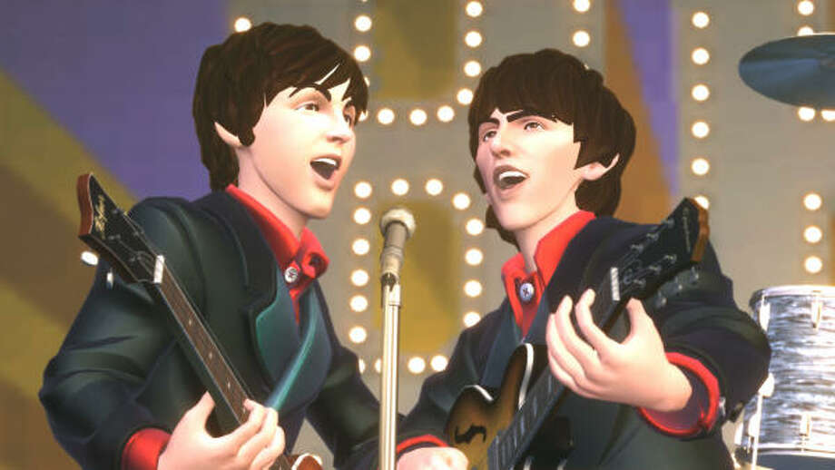The Beatlesrock-and-roll invasion that redefined the music scene in the 1960s is mounting an Internet-Age assault on the world of video games with a Rock Band title that lets players become virtual members of the legendary group. Photo: AFP/Getty Images