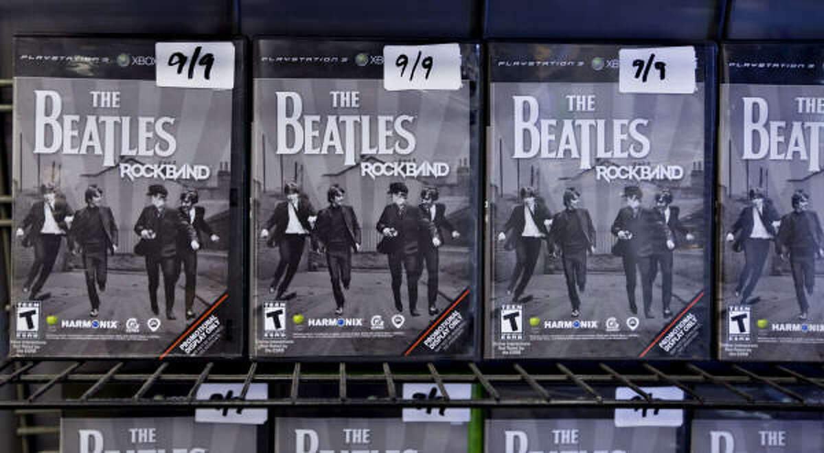 The Beatles: Rock Band video game is set for release on Sept. 9.