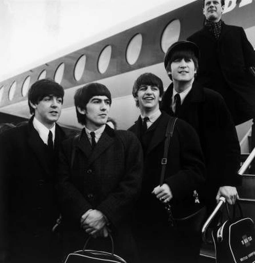 The Beatlesin 1964. Photo: Getty Images