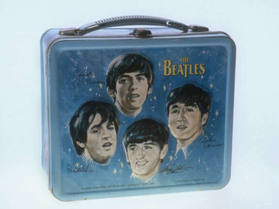 The Fab Four adorn a lunch box that was part of the Lunch Box Memories exhibit that opened in Lafayette, La. Photo: AP