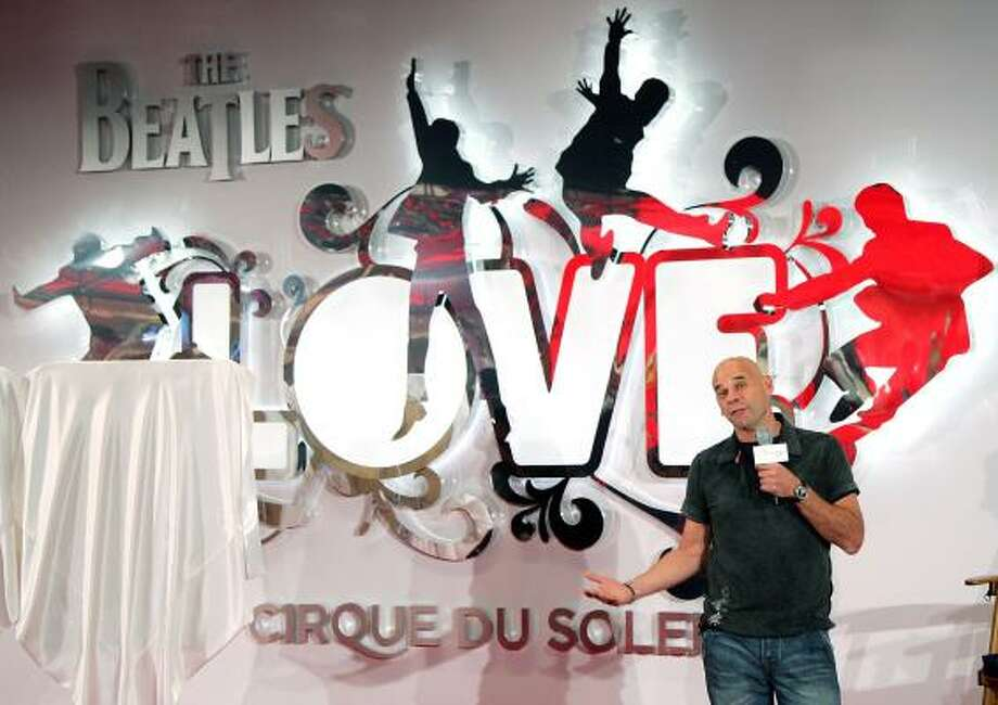 Cirque du Soleil founder Guy Laliberte launched the show The Beatles LOVE by Cirque du Soleil at the Mirage Hotel & Casino in Las Vegas, Nevada. Photo: Getty Images