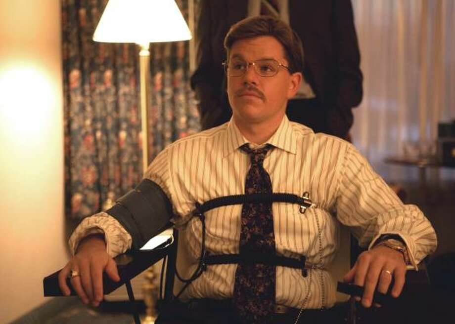 Fall is here providing some of the biggest features of the year: Matt Damon stars as Mark Whitacre in a scene from, The Informant!. To see what else is coming out click here. Photo: Claudette Barius, AP