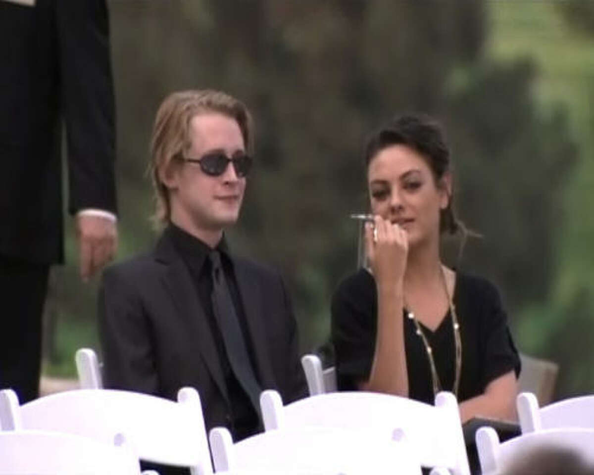 Actor Macaulay Culkin, shown in an image from video, has been a close friend of Jackson since the Home Alone star was a child.