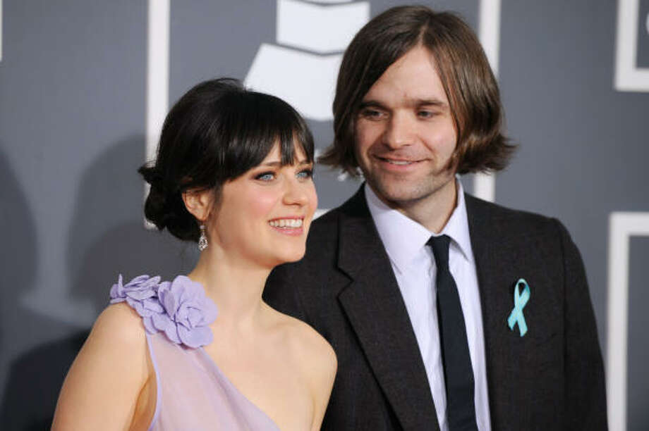 Ben Gibbard's other band, the Postal Service, just reformed and is one of the hottest names being discussed. And no, ex Zooey Deschanel will not be there. Photo: Chris Pizzello, AP