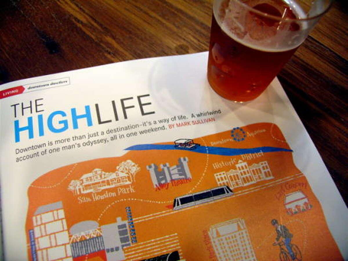 Downtown Magazine celebrated its one year anniversary.