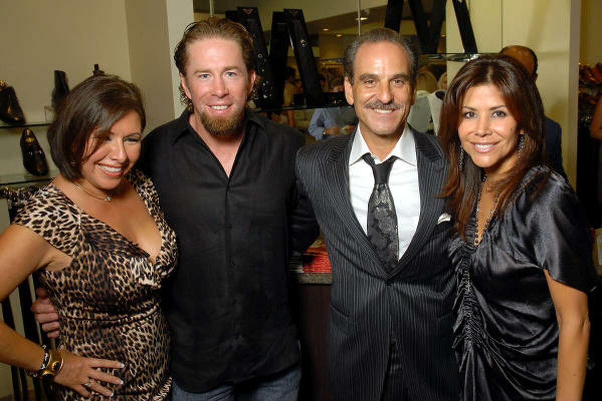 From left: Debbie Festari, Jeff Bagwell, Rudy Festari and Ericka Bagwell