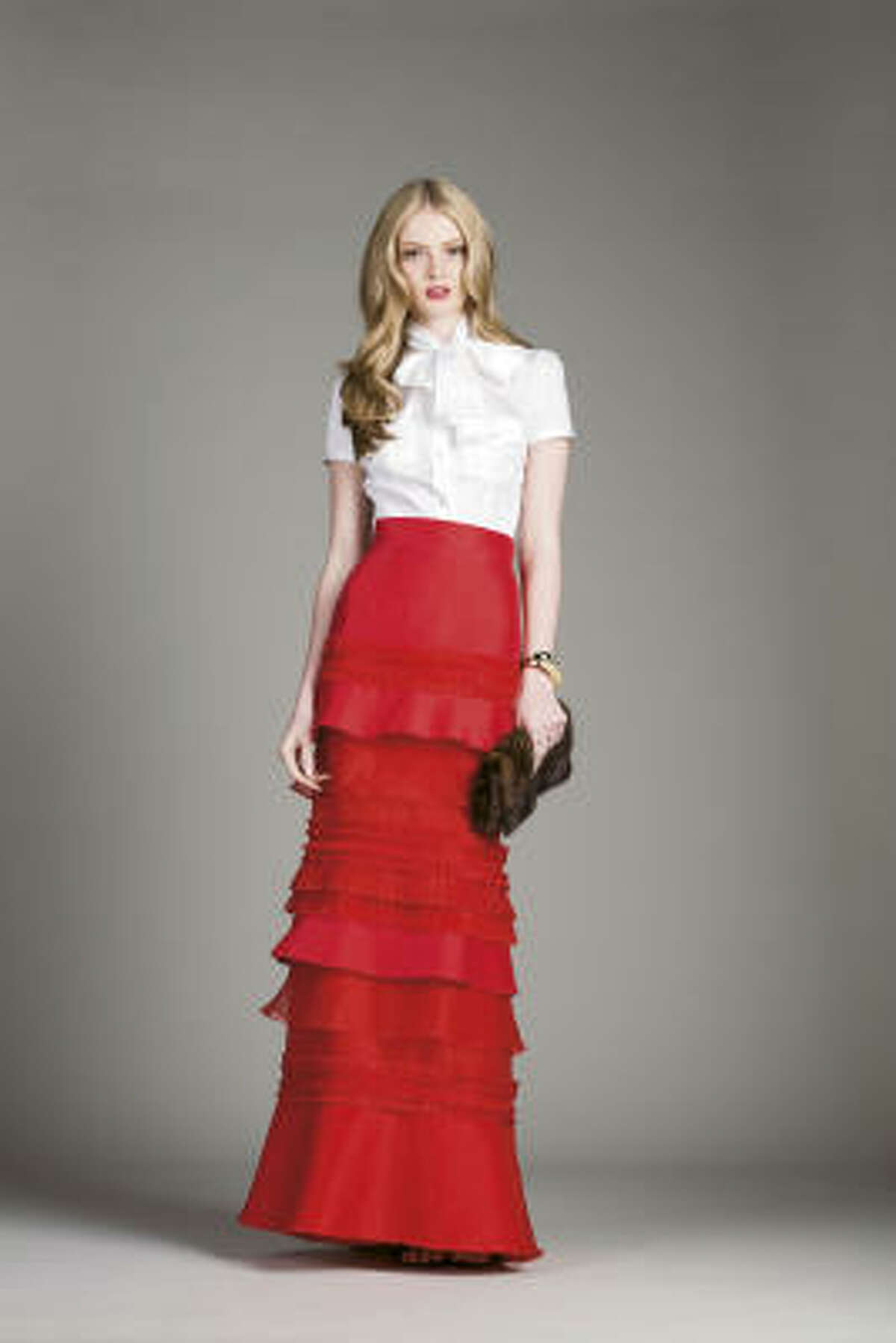 An evening look for fall from CH Carolina Herrera.