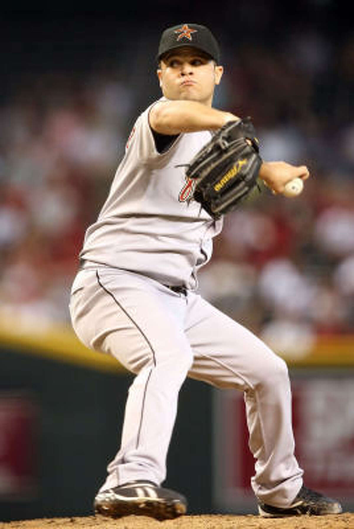 Aug. 30: Diamondbacks 4, Astros 3 Astros starting pitcher Wandy Rodriguez gave up four runs and allowed seven hits in six innings of work.