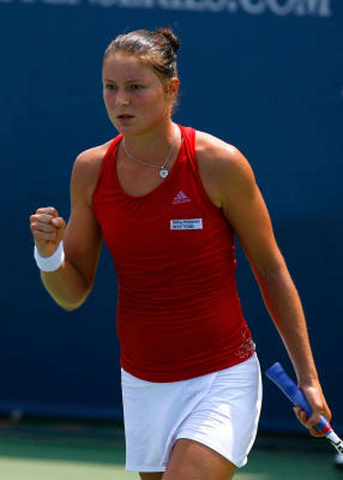 Dinara Safina (1) Age: 23 Country: Russia 2009 Match Record: 52-12 2009 Singles Titles: 3 Career Singles Titles: 12 Major Titles: 0 Last 5 U.S. Opens: '08-Lost in Semifinals, '07-4th, '06-QF, '05-1st, '04-1st Comment: Runner-up at three of the past six Grand Slam tournaments but still searching for her first major championship. ... One of four Russians seeded in top seven at U.S. Open. ... Lost 6-1, 6-0 in Wimbledon semifinals to Venus Williams. ... Has acknowledged faltering because she feels pressure in latter stages of major events.