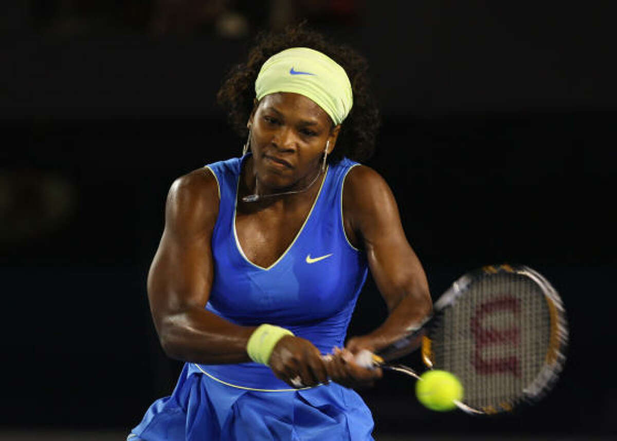 Serena Williams (2) Age: 27 Country: United States 2009 Match Record: 38-10 2009 Singles Titles: 2 Career Singles Titles: 34 Major Titles: 11 -- U.S. Open ('99, '02, '08), Australian Open ('03, '05, '07, '09), French Open ('02), Wimbledon ('02, '03, '09) Last 5 U.S. Opens: '08-Won Championship, '07-QF, '06-4th, '05-4th, '04-QF Comment: Has won three of the past four Grand Slam tournaments to re-establish herself as the best women's player in tennis today. ... Is seeking a second consecutive U.S. Open championship and fourth overall. ... Could face sister Venus in semifinals. ... Hasn't looked particularly good during hard-court tuneup events, going only 6-3 and beating only one player ranked better than 33rd -- but both of her titles this season came at majors. ... Leads tour in aces in 2009.