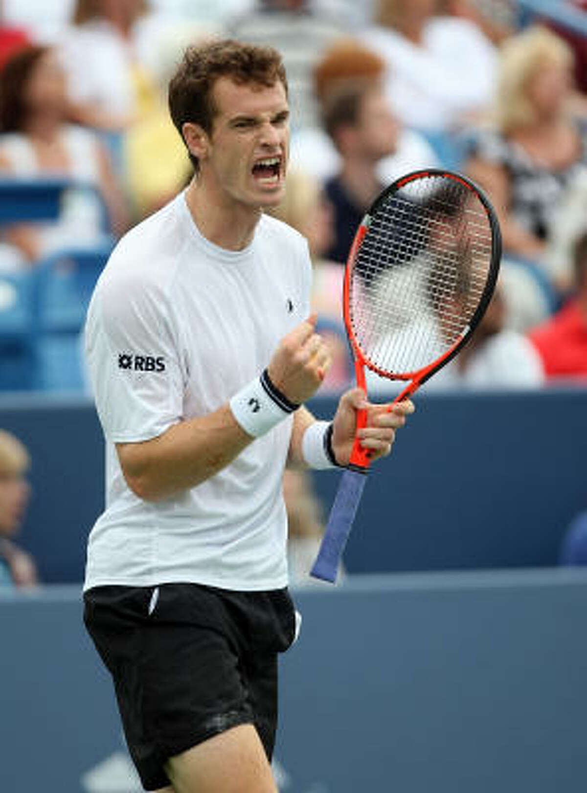 Andy Murray (2) Age: 22 Country: Britain 2009 Match Record: 53-8 2009 Singles Titles: 5 Career Singles Titles: 13 Major Titles: 0 Last 5 U.S. Opens: '08-Runner-Up, '07-Lost in 3rd Round, '06-4th, '05-2nd, '04-Did Not Play Comment: Moved up to second in the ATP rankings this month, highest showing for a British man. ... There hasn't been a British male champion at any Grand Slam tennis tournament since the 1930s. ... Credits his showing at U.S. Open a year ago, which included upset of Rafael Nadal in the semifinals, with boosting his career.