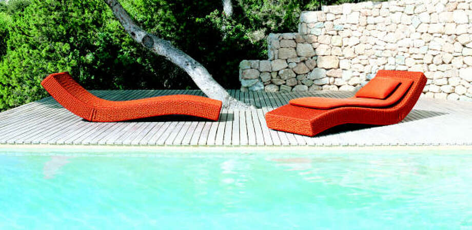 Wave by Paola Lenti, $5,095 at nv4living Photo: PAOLA LENTI