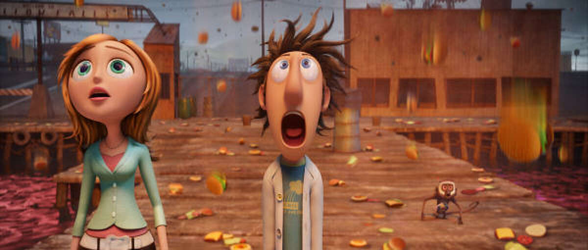 Cloudy With a Chance of Meatballs , also a film adaptation of a children's book by Judi Barrett, will be in theaters Sept. 18. To see a trailer click here..