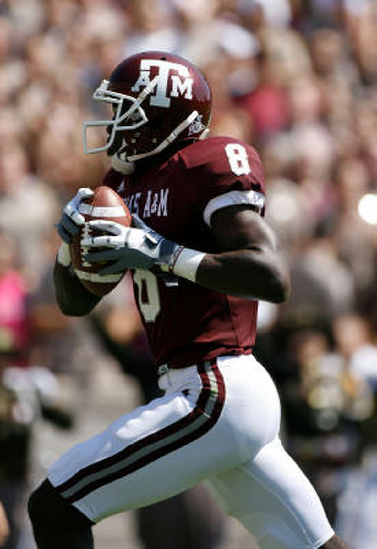 Starting wide receiver Jeff Fuller is the son of former A&M and San Francisco 49ers safety Jeff Fuller Sr.