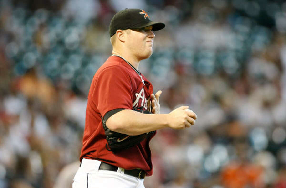 Aug. 23: Diamondbacks 7, Astros 5 It was the second straight short outing for Bud Norris, who gave up six runs in one-plus inning.