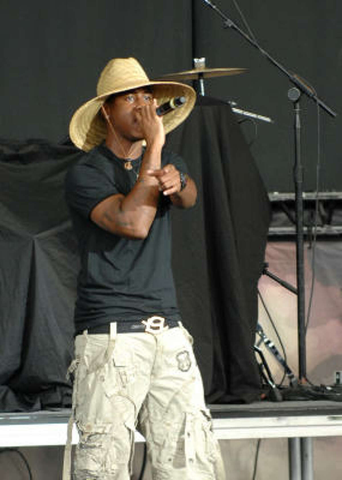 Jeremiah opens for Lil' Wayne at the Woodlands Pavillion on Saturday.