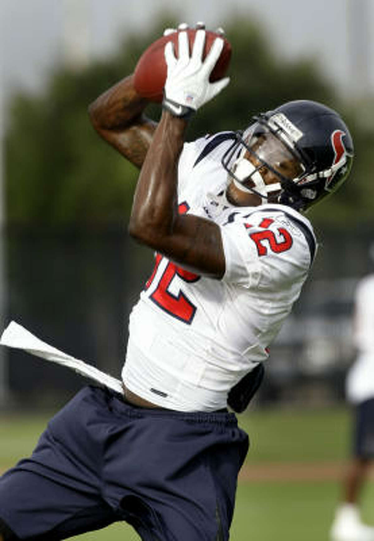 Wide receiver John McClain's comment: Jacoby Jones (pictured) is trying to hold off Darnell Jenkins for the fifth receiver spot. He lacks Jones' size and ability, but he's more consistent and doesn't commit as many mental mistakes.