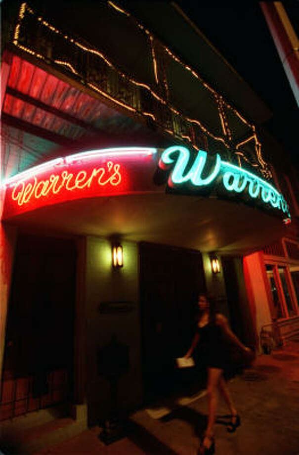 Warren's InnLocation:307 Travis St, Houston, TX 77002Phone:(713) 247-9207Hours:Monday-Friday: 11AM-2PMSaturday: noon-2AMSunday: 2PM-2AMBonus:The old-timey look inside this bar wasn't necessarily on purpose. It just really is that old.  Photo: Christobal Perez, Houston Chronicle