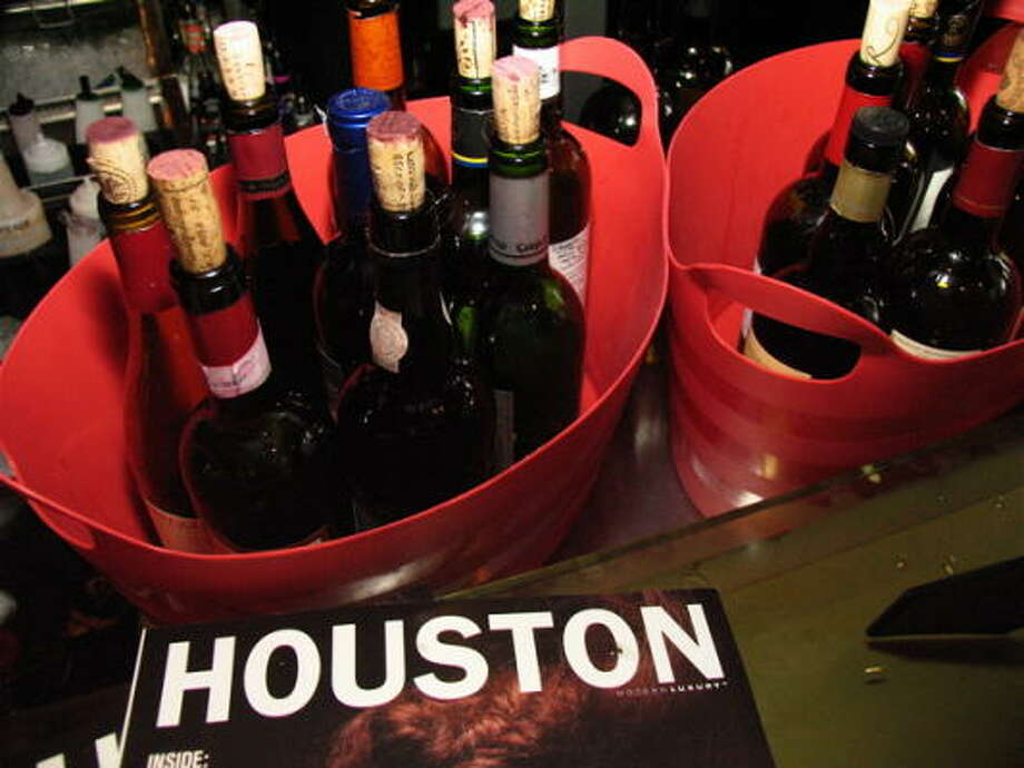 The event at The Grove kicked-off the first part of a series introducing Houston young art enthusiasts to enthusiastic, young Houston artists.