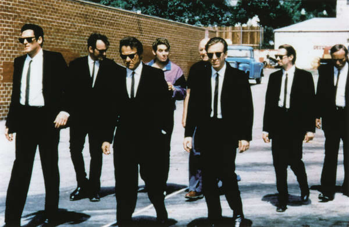 Reservoir Dogs, starring Harvey Keitel, is about seven strangers who team up for the perfect crime.