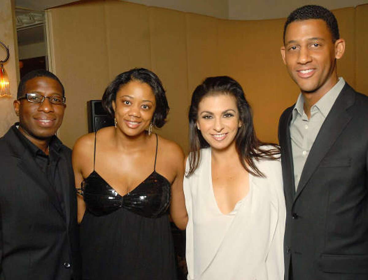 From left: Sterling Carter and Denise Furlough with Sharon Aboussleman and Errol McLaughlin