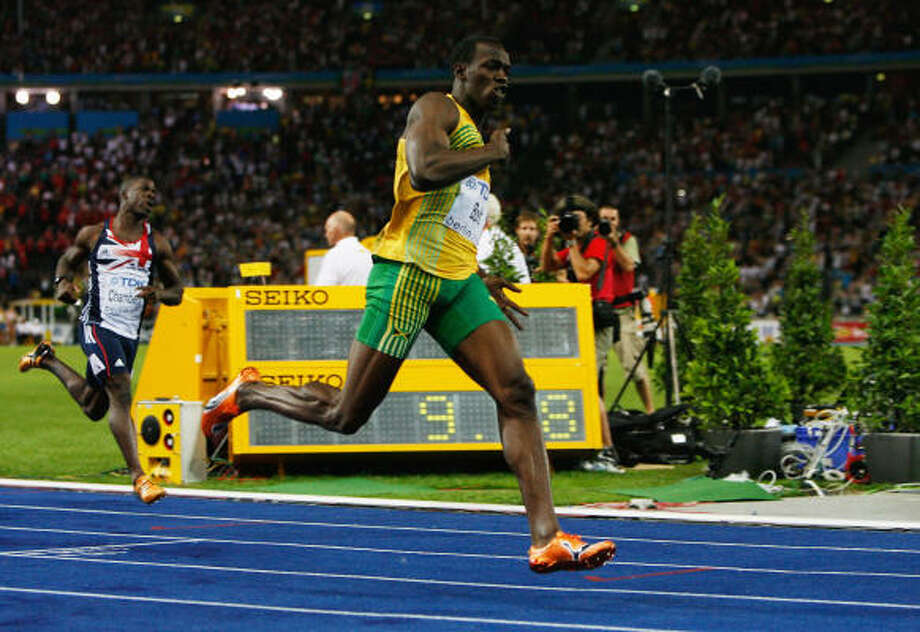 Usain Bolt: The fastest man in the worldUsain Bolt of Jamaica set a new world record of 9.58 seconds after winning the men's 100m final race in the 2009 IAAF Athletics World Championships in Berlin. Photo: Andy Lyons, Getty Images