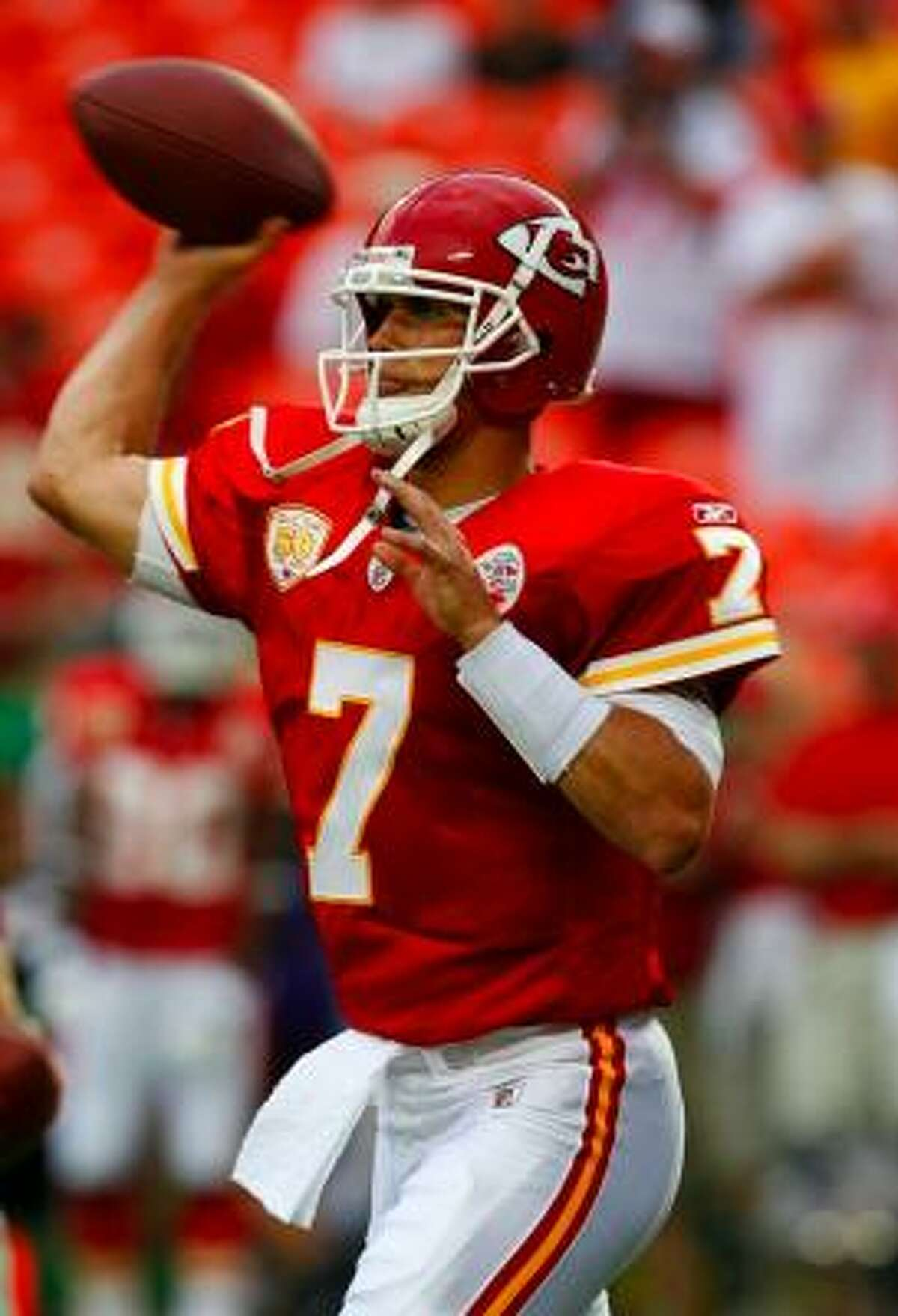 Quarterback Matt Cassel signed with the Chiefs in the offseason.