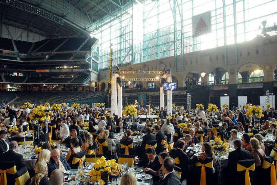 The 2009 Astros Wives Gala at Minute Maid Park Thursday Aug. 06, 2009. To read more about the event, click here. Photo: Dave Rossman, For The Chronicle