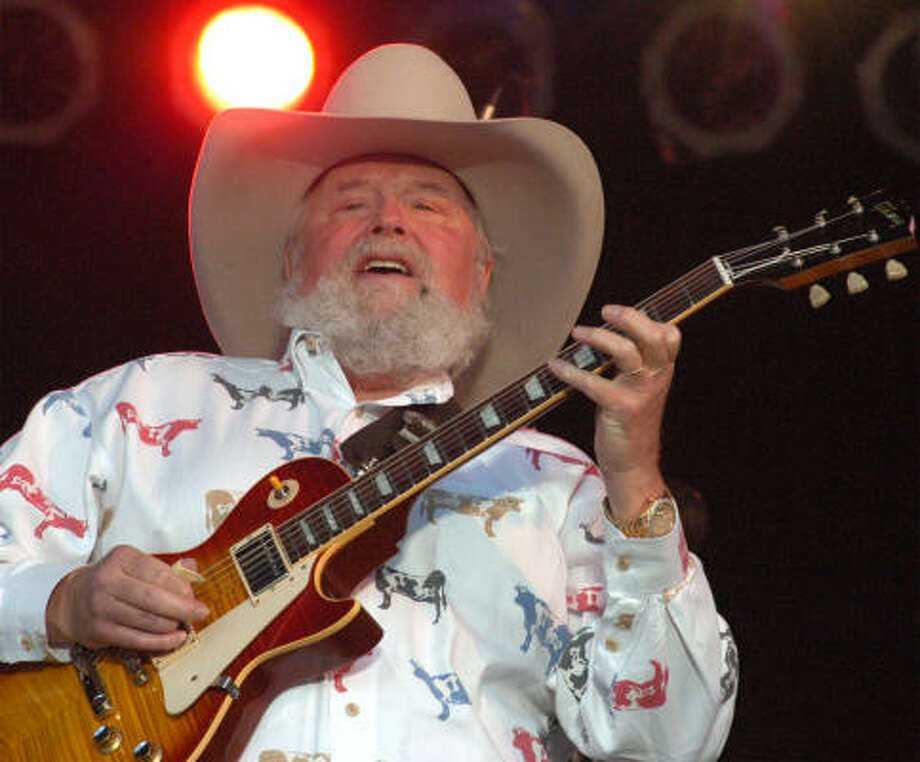 "Charlie Daniels tweeted on Dec. 15 - ""Out of respect to the families let's give it a few days before we get to gun control. I think both sides should lay low for a few days."" Photo: ANTHONY WEBER, AP"