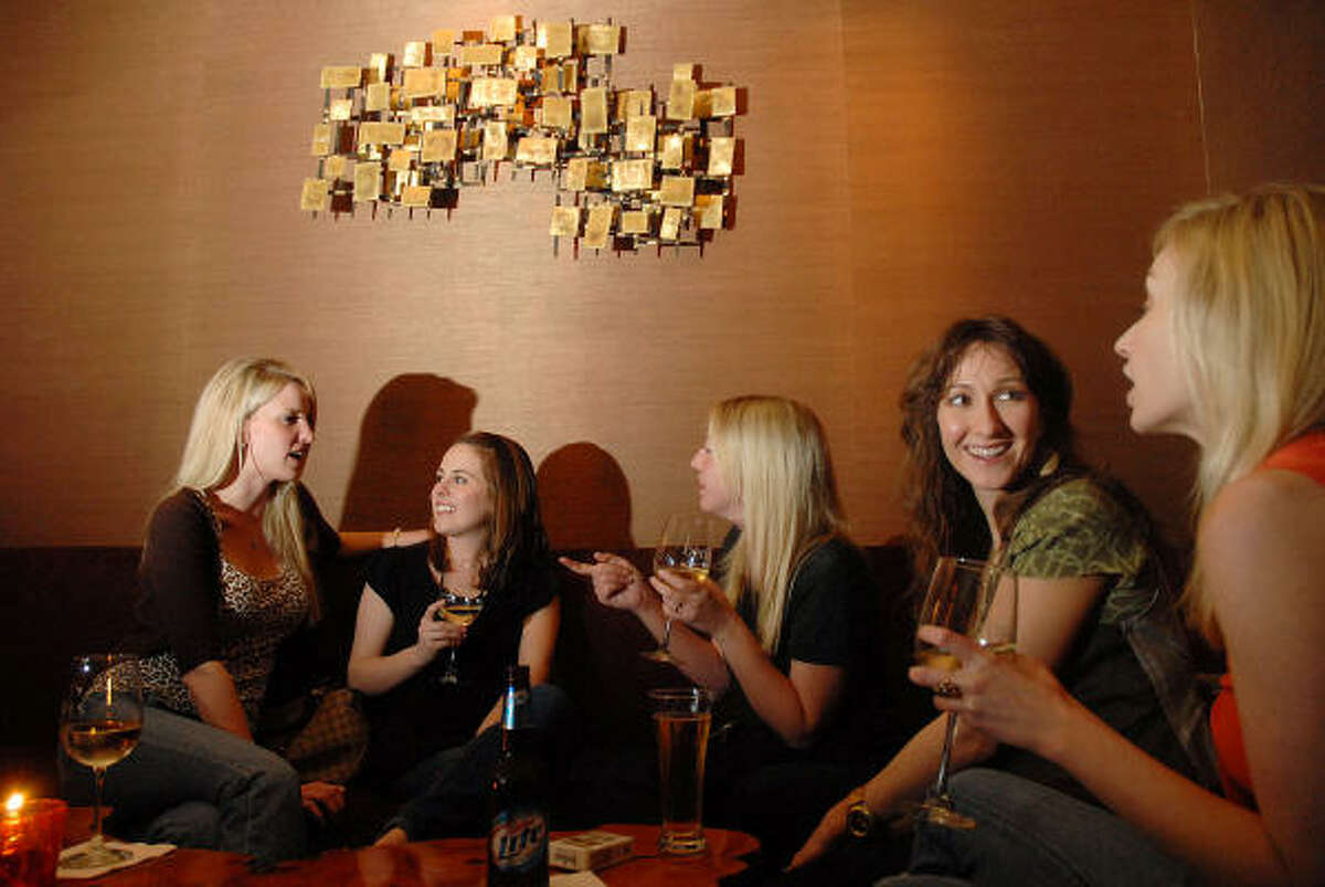 Benjy's Enjoy a drink at the upstairs lounge at 5922 Washington Ave or 2424 Dunstan Rd.