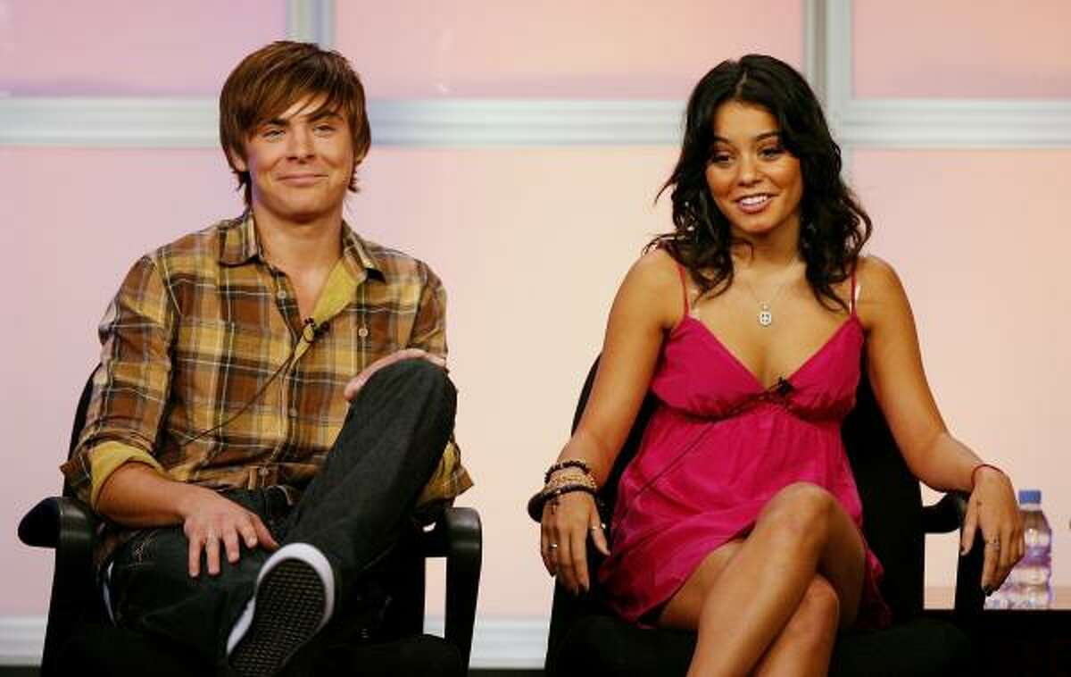 She also starred with her boyfriend Zac Efron in the High School Musical movies.