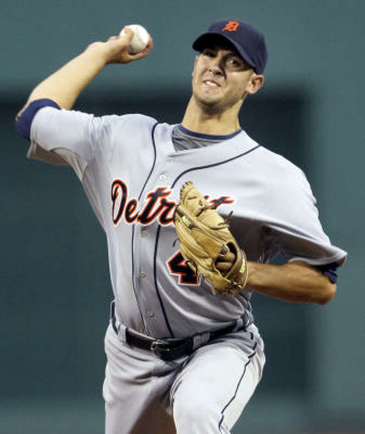Detroit Tigers starter Rick Porcello was ejected in the second inning after hitting Red Sox first baseman Kevin Youkilis with a pitch. Youkilis was also ejected after he charged the mound, causing both teams' benches to clear.