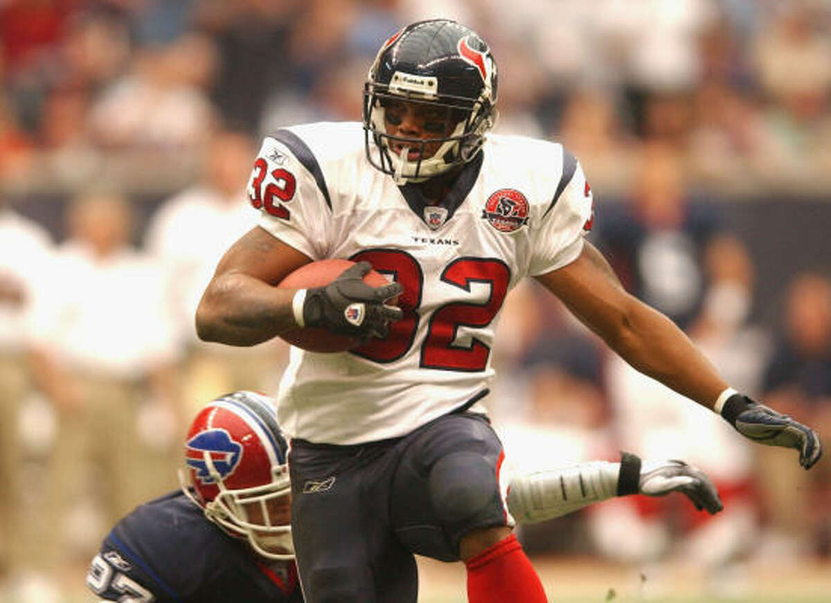 Jonathan Wells Position: Running back Passing yards: 529