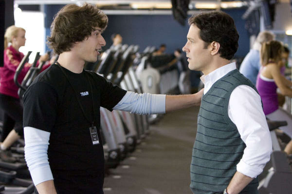 I Love You, Man : Andy Samberg (left) and Paul Rudd star in this film about a friendless Peter Klaven goes on a series of man-dates to find a Best Man for his wedding. But when his insta-bond with his new B.F.F. puts a strain on his relationship with his fiancée, can the trio learn to live happily ever after?