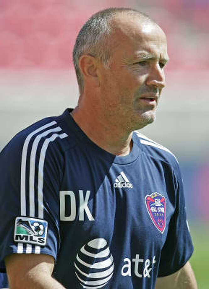 Dominic Kinnear, Dynamo Consecutive MLS Cup championships after the team moved to Houston in 2006, gets Kinnear mention here. Vote for your picks here. Photo: George Frey, AP
