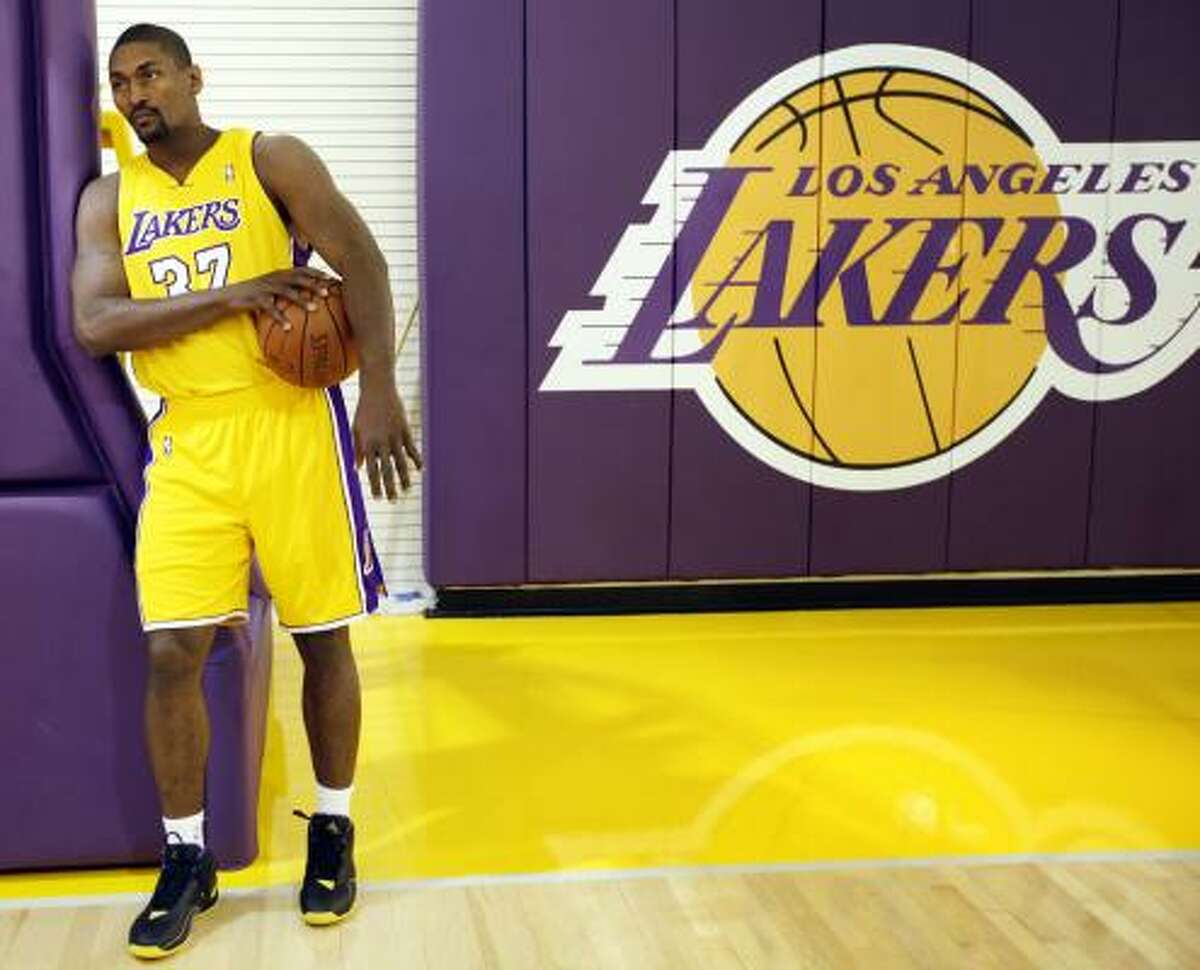 Nov. 4: at L.A. Lakers If two games against the Blazers and a trip to Utah do not test the Rockets enough in the first four games, next comes the reigning champion Lakers and a reunion with Ron Artest.
