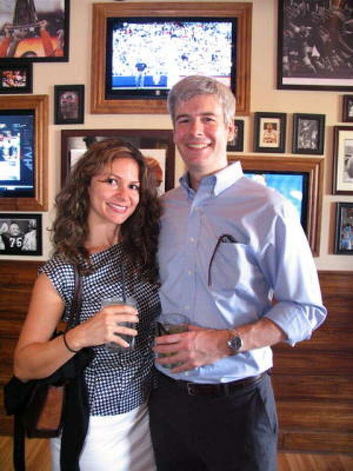 Johanna Reedy, left, and Saul Goode Photo: Jordan Graber, For The Chronicle