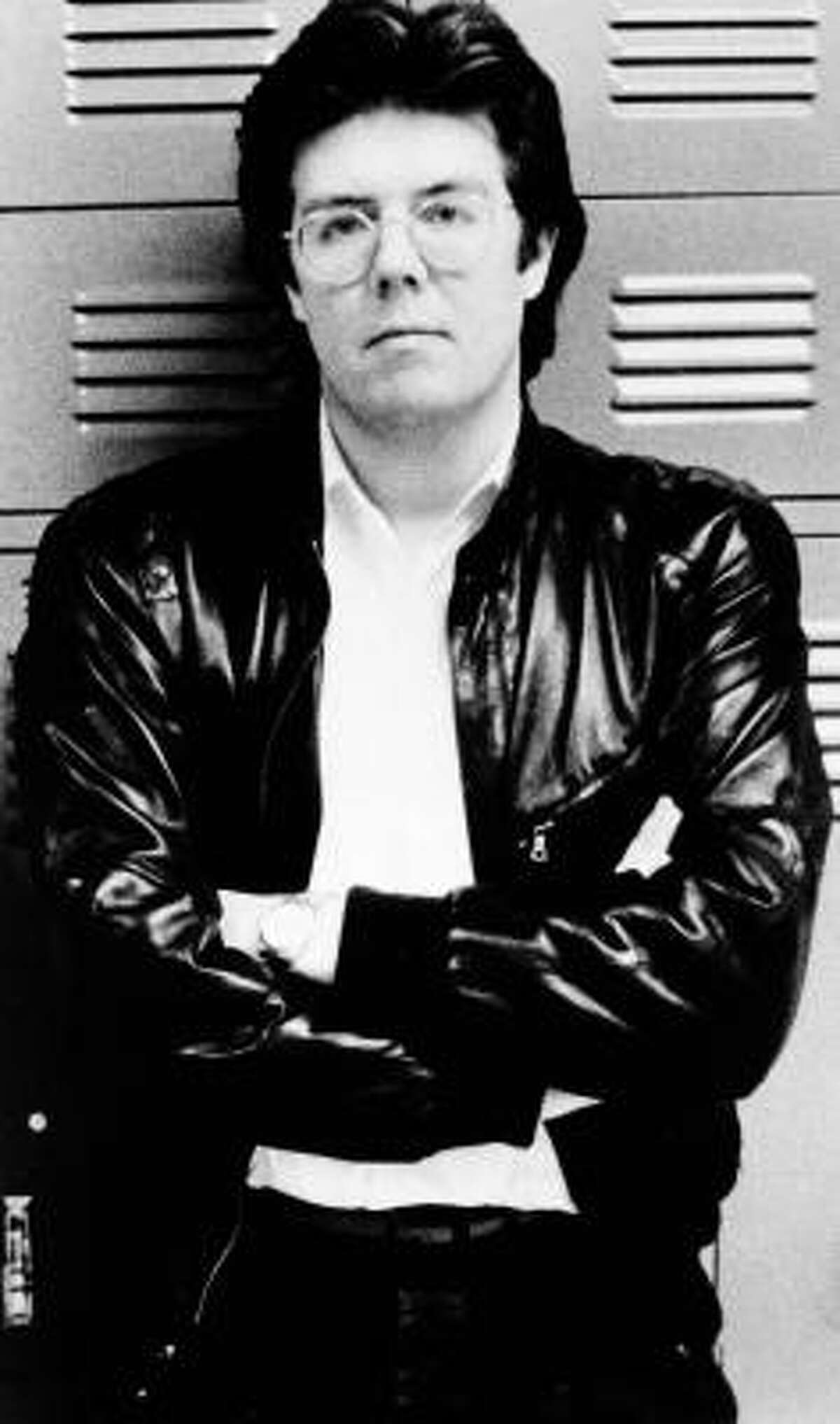 Director John Hughes in 1984. Hughes wrote and directed many of the classic 80's films such as