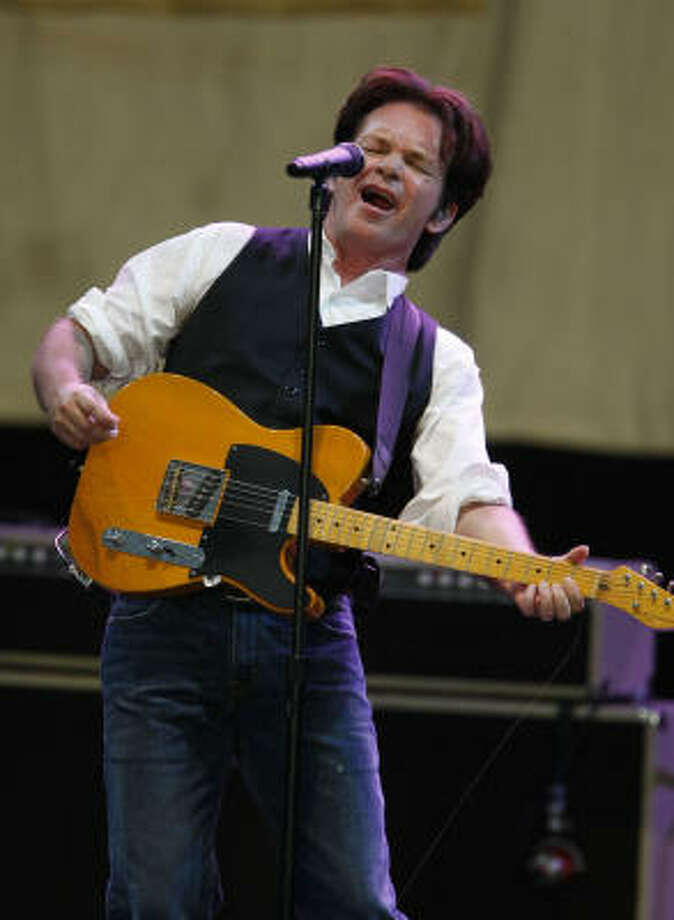 John Mellencamp, Aug. 2:John Mellencamp at the Cynthia Woods Mitchell Pavilion on Sunday, Aug. 2. Photo: Julio Cortez, Houston Chronicle