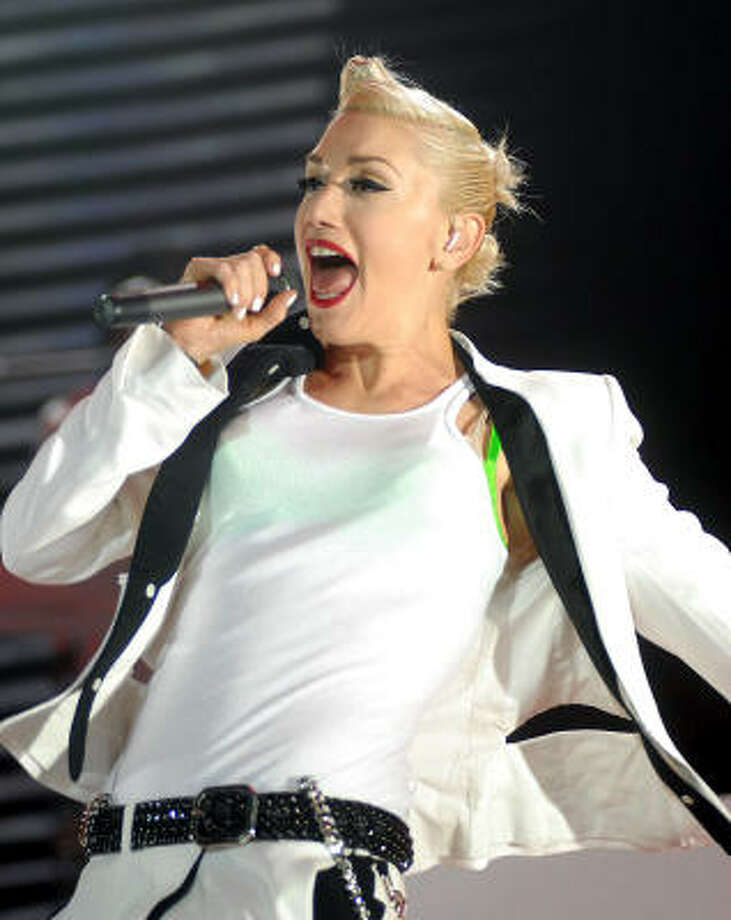 After a five-year hiatus, the pop-rock band and frontwoman Gwen Stefani are back. Photo: Dave Rossman, For The Chronicle