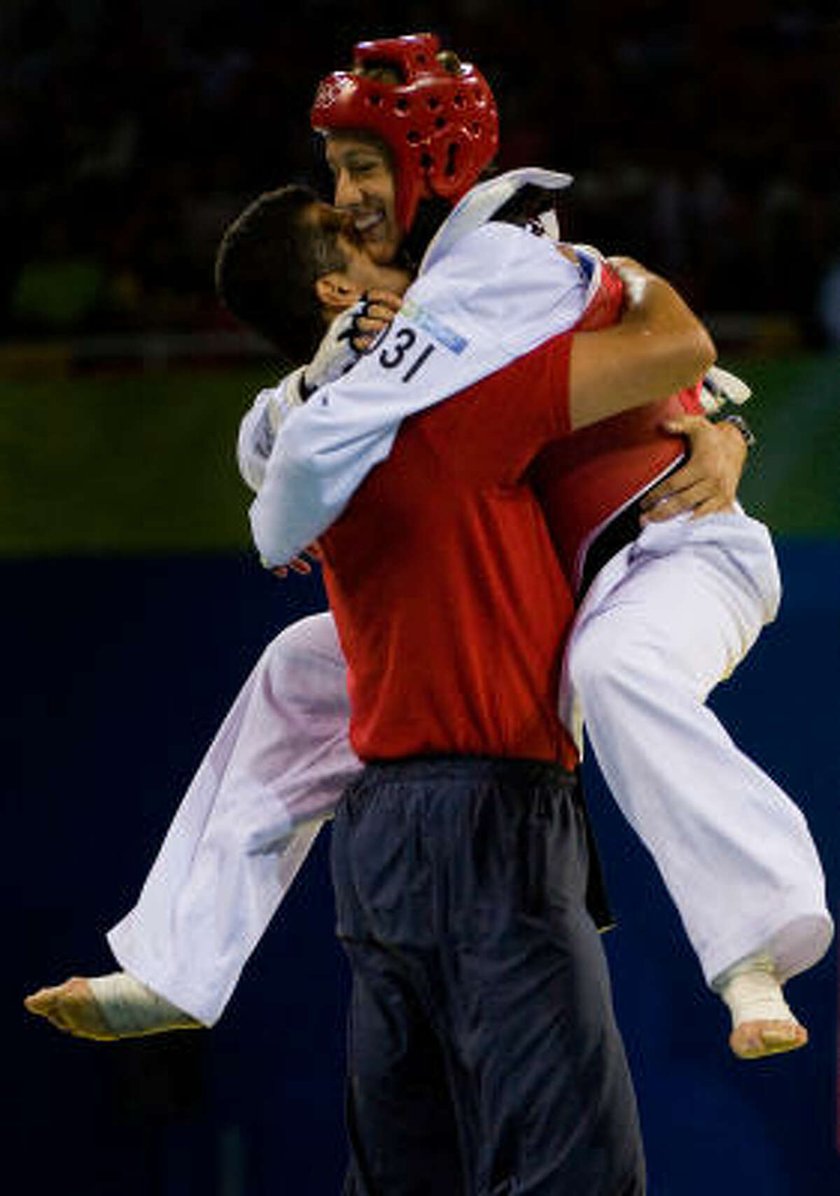 Who : Diana Lopez. New in trophy case: Bronze medal. A true Texan? Yes. Born in Sugar Land. Quote: