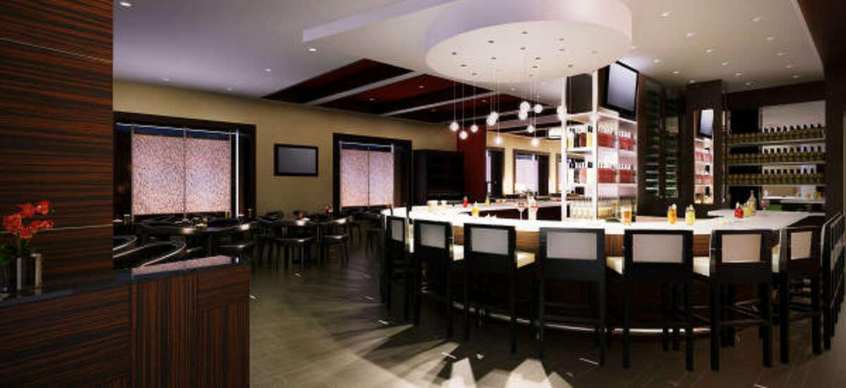 Drinks galore at the new Valentino Vin Bar in Hotel Derek.
