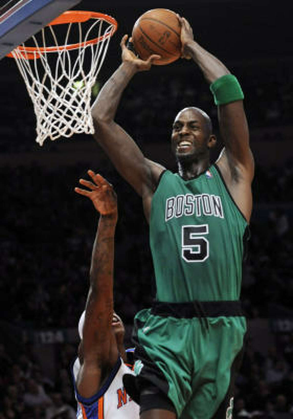 NBA: Kevin Garnett The Celtics power forward's $24.8 million topped all hoopsters, according to USA Today's data, but he was forced to miss the playoffs and Boston's second-round exit.