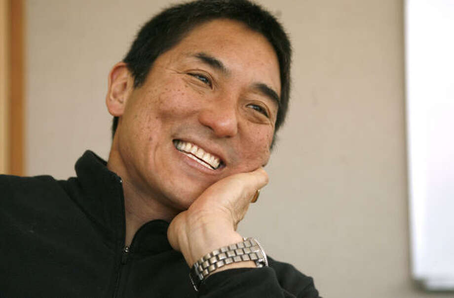 Guy Kawasaki Connector, entrepreneur, author and co-founder of the online news aggregator alltop.com Age: 54 This Apple Computer veteran and eight-time author (his latest book is Reality Check) is an evangelist for new Web technologies and the sharp minds behind them. Photo: Kim Komenich, SFC
